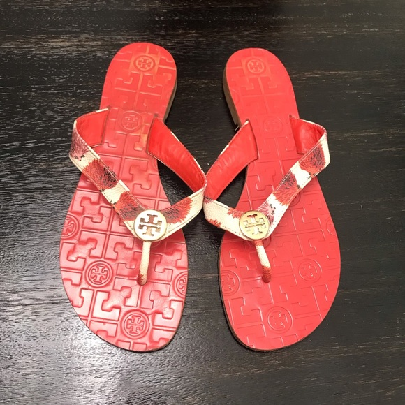 Tory Burch Shoes - {Tory Burch} RARE Tory Burch Thora Sandals